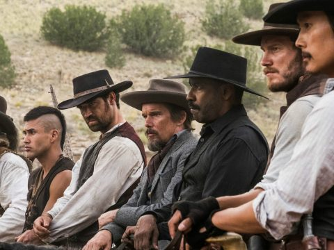The cast of Magnificent Seven