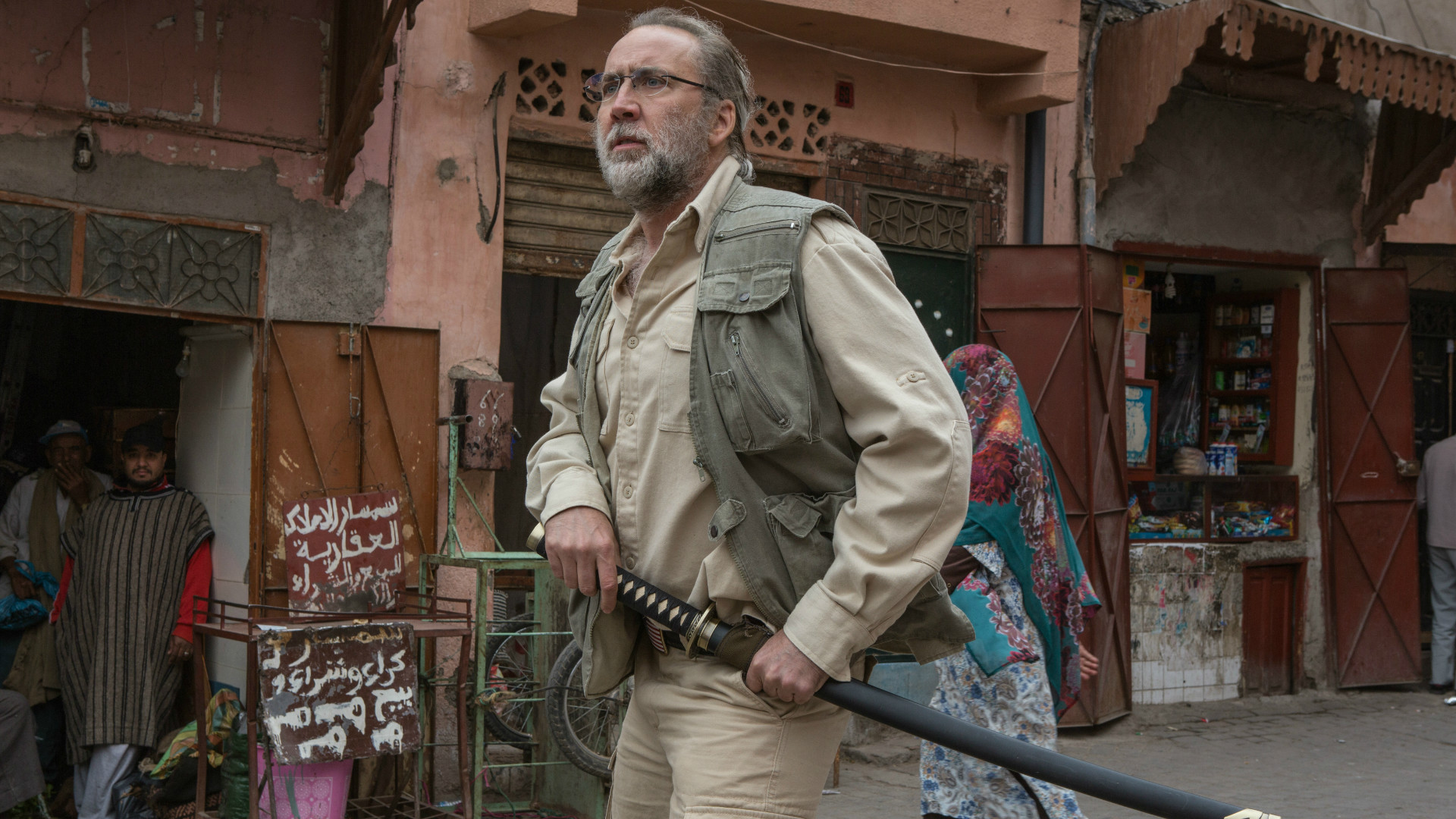 Nicolas Cage as Gary Faulkner in Army of One