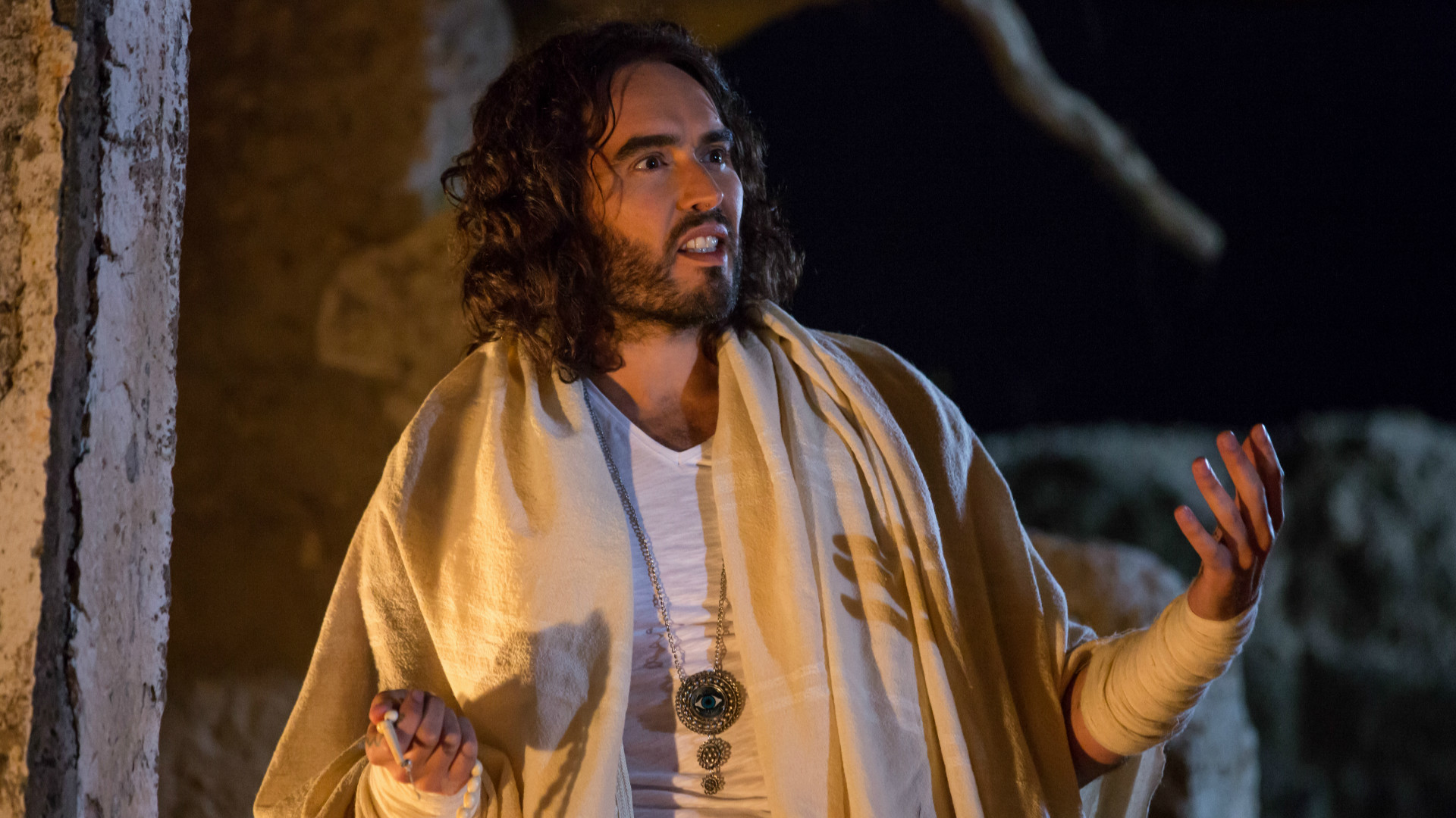 Russell Brand plays 'The Spirt' in Army of One