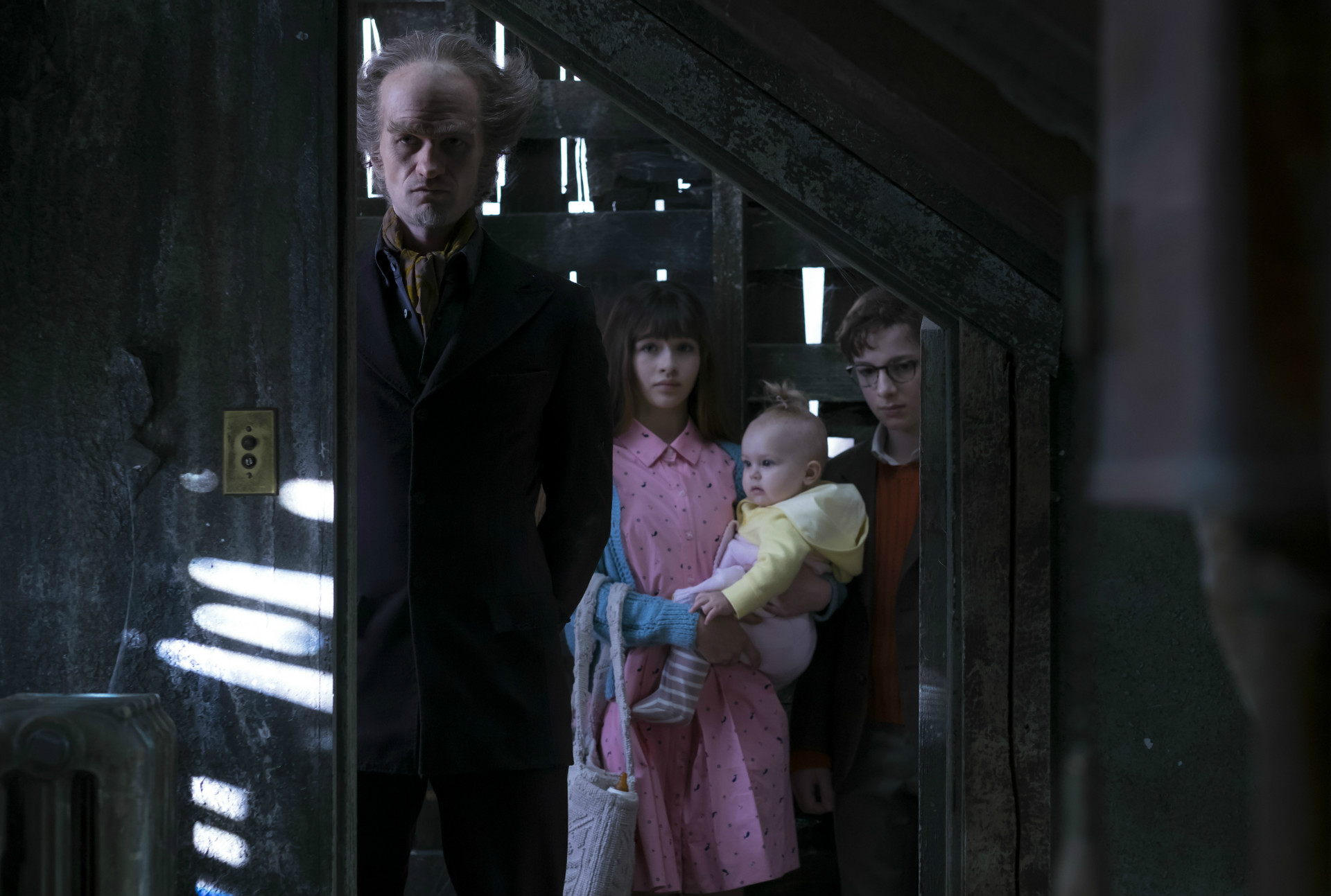A Series of Unfortunate Events now on Netflix.