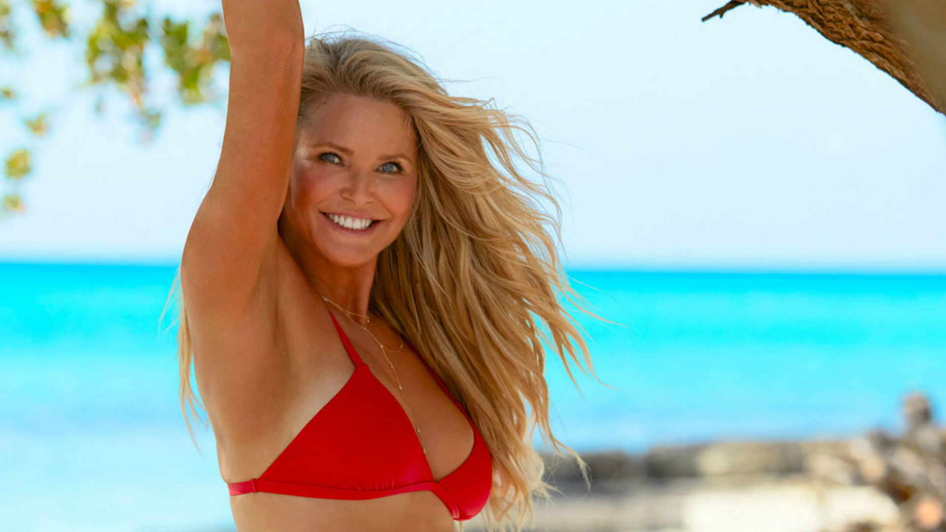 Christie Brinkley for Sports Illustrated.