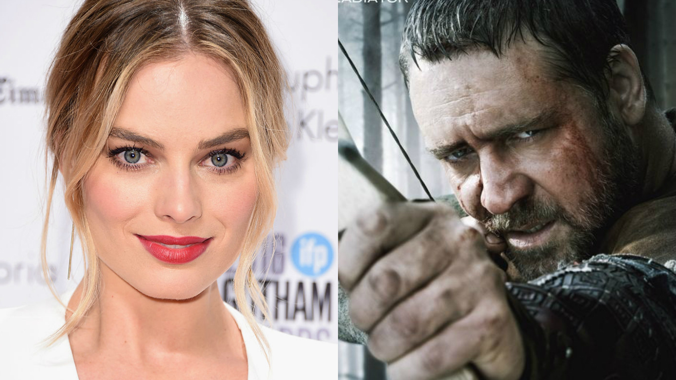 Margot Robbie as Robin Hood
