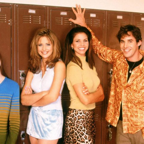 Buffy the Vampire Slayer back in the day.