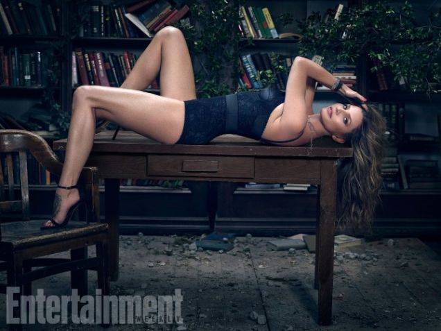 Charisma Carpenter for Entertainment Weekly.