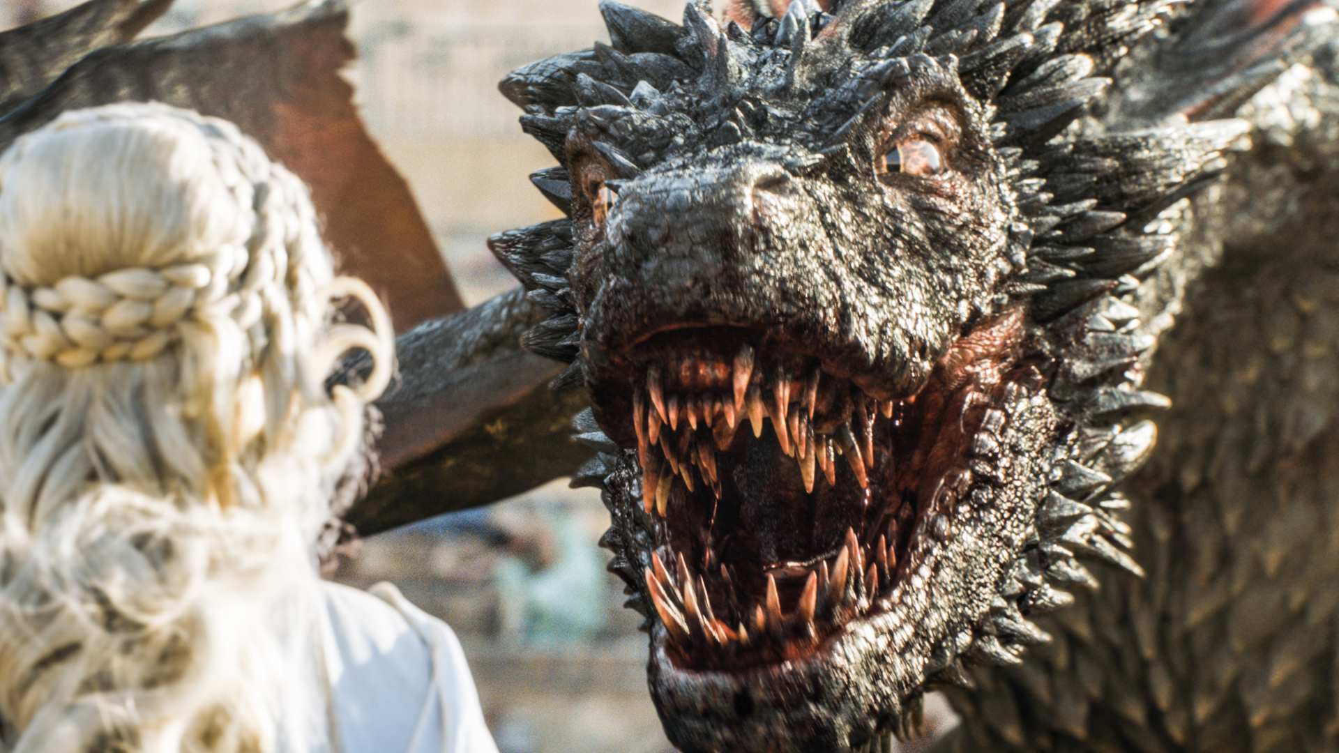 Game of Thrones' dragons.