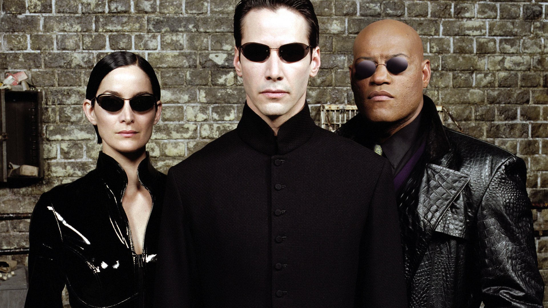 The original cast of the Matrix.