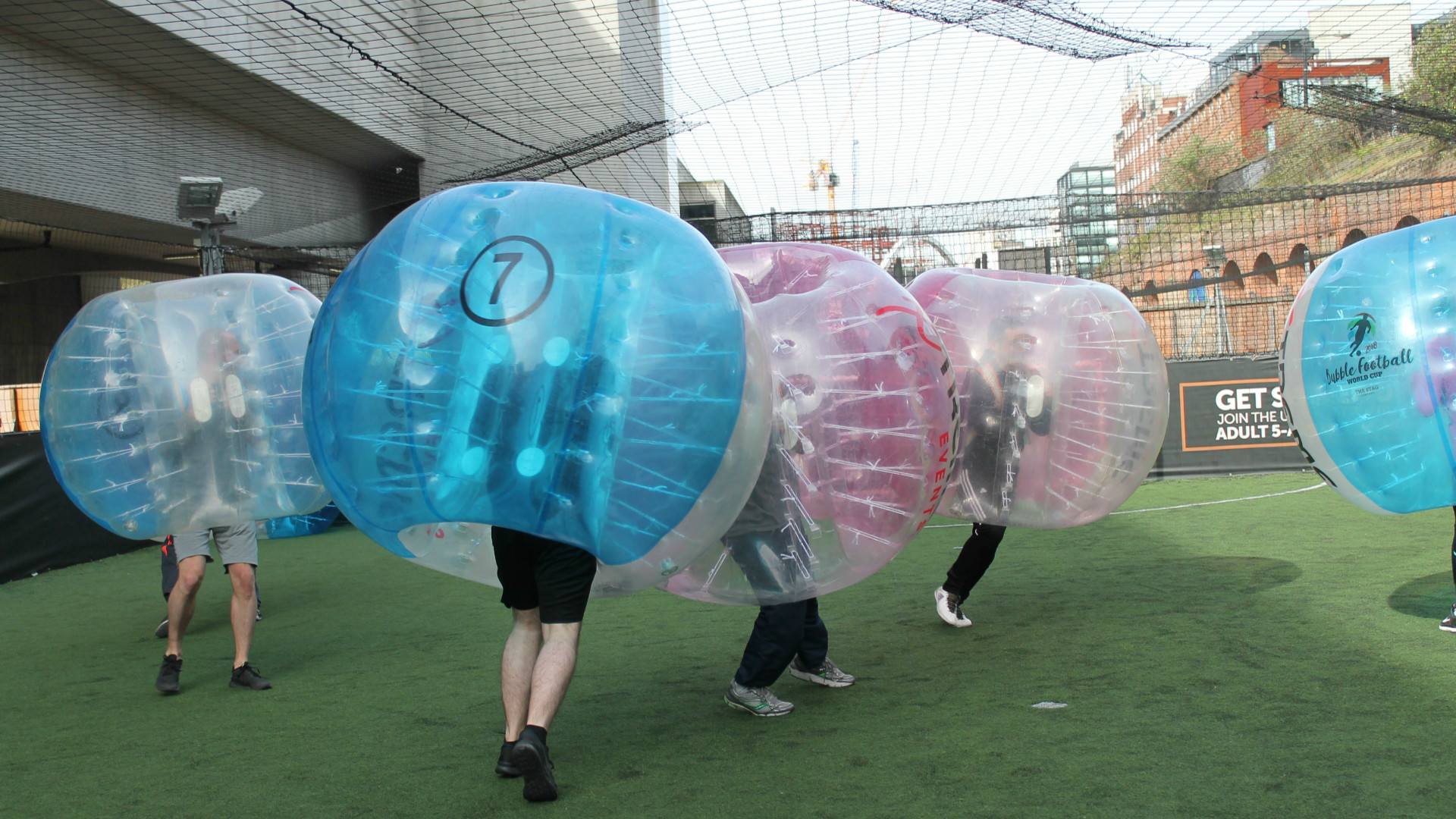 The Bubble Football World Cup