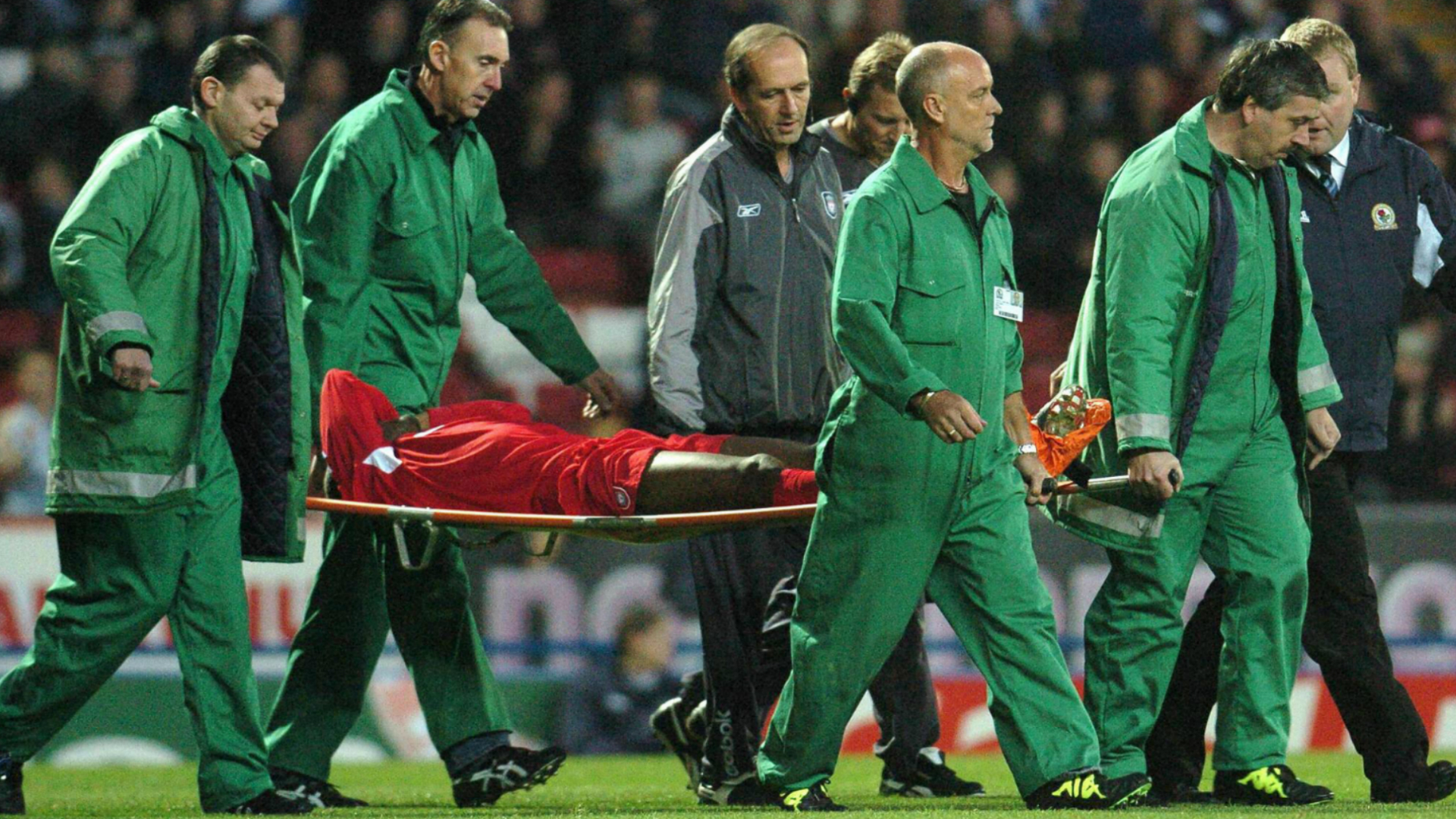 Djibril Cissé injury