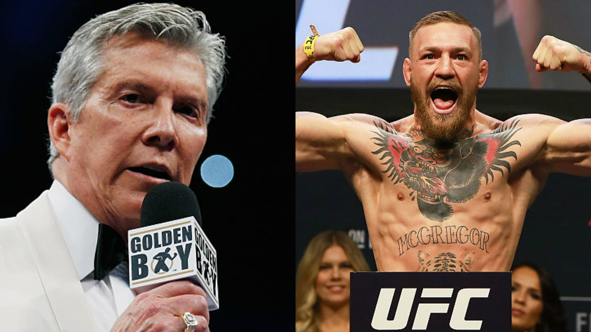 Michael Buffer vs Conor McGregor