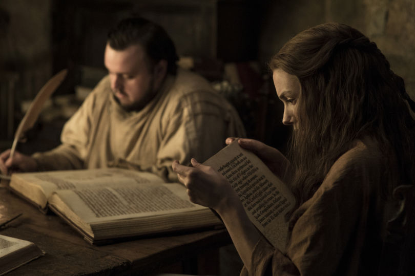Sam and Gilly from Game of Thrones