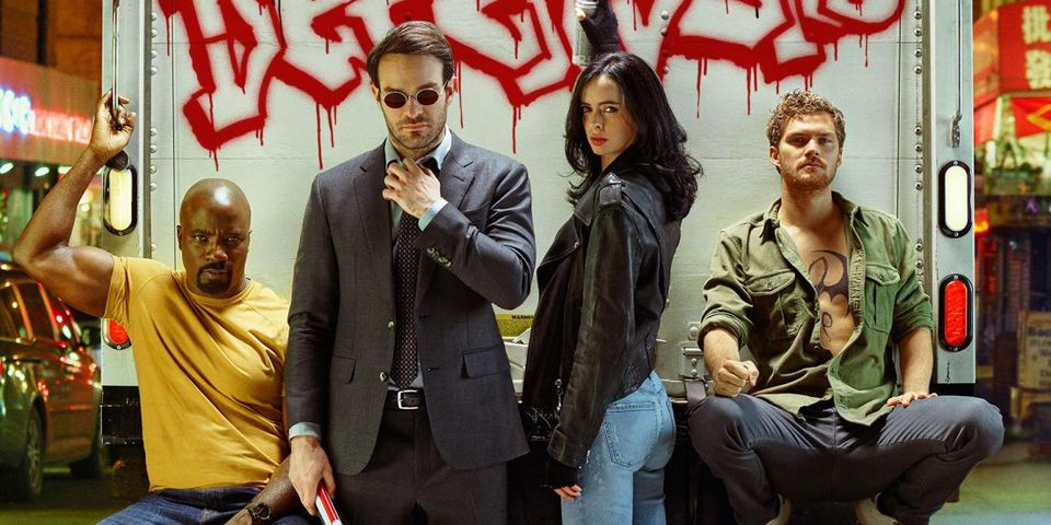 The Defenders in Entertainment Weekly