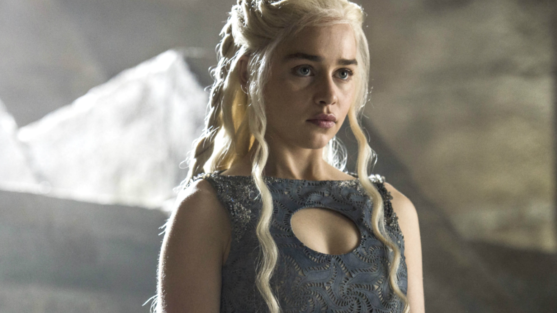 Emilia Clarke in Geme Of Thrones
