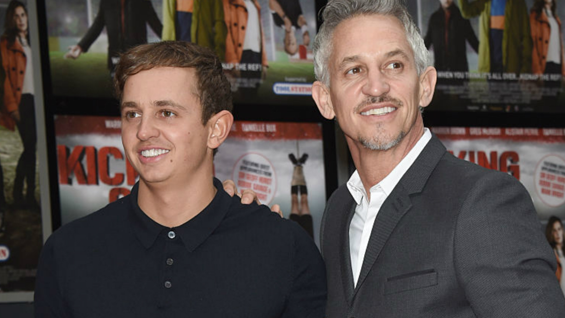 Gary and George Lineker