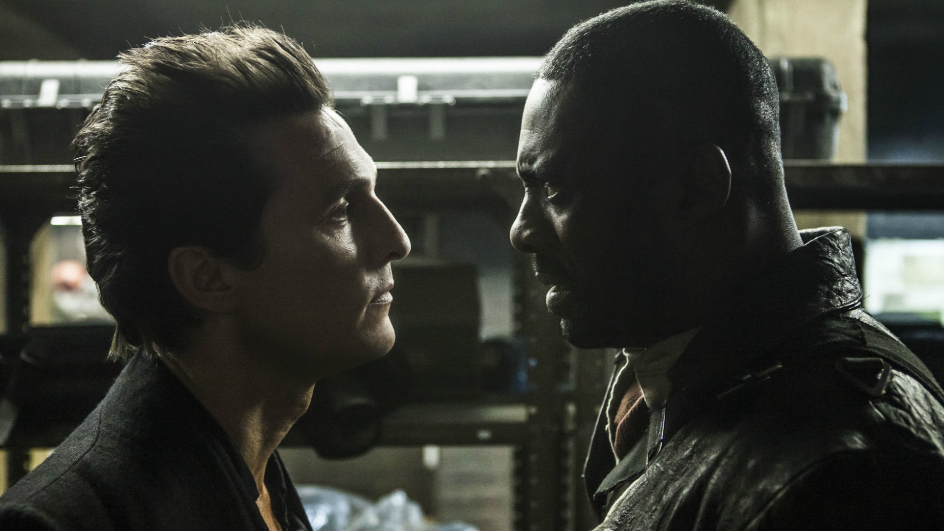 It's Matthew McConaughey vs Idris Elba in The Dark Tower