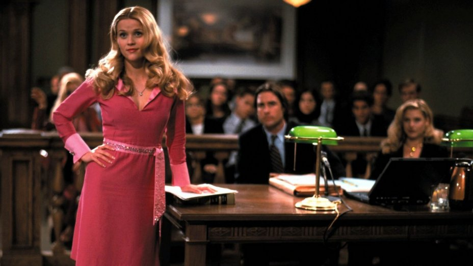 Reece Witherspoon in Legally Blonde
