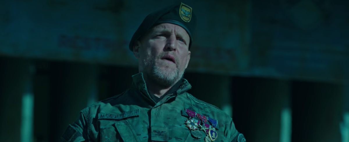 Woody Harrelson as the General.