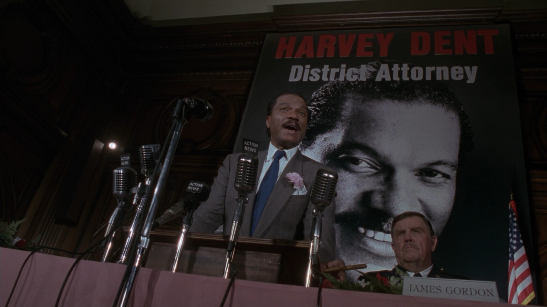 Billy Dee Williams as Harvey Dent in Batman.