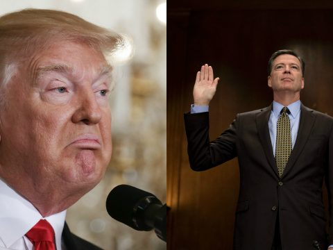 trump and comey