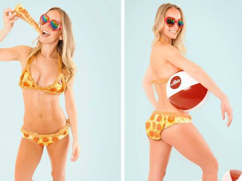 The world's first Pizza-kini