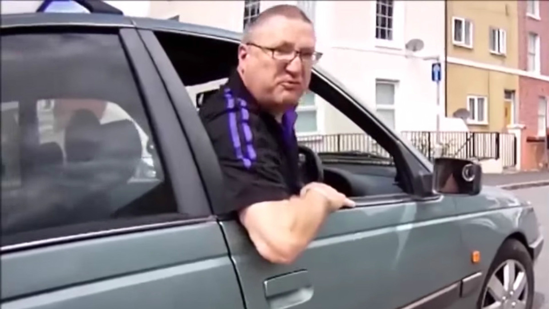 Road rage on the rise in the UK.