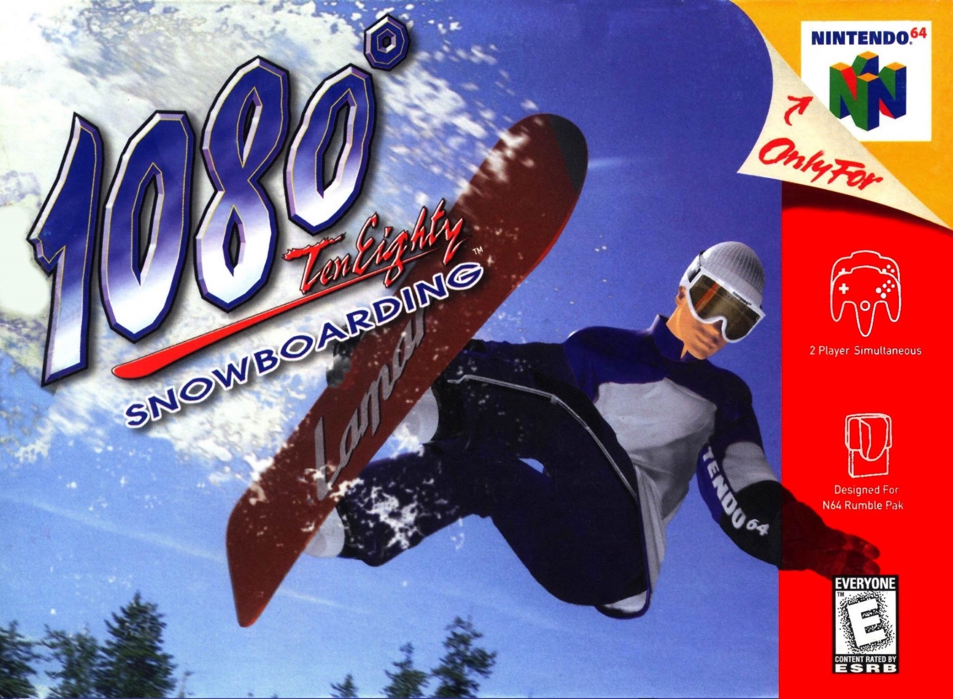 1080 Snowboarding on N64.