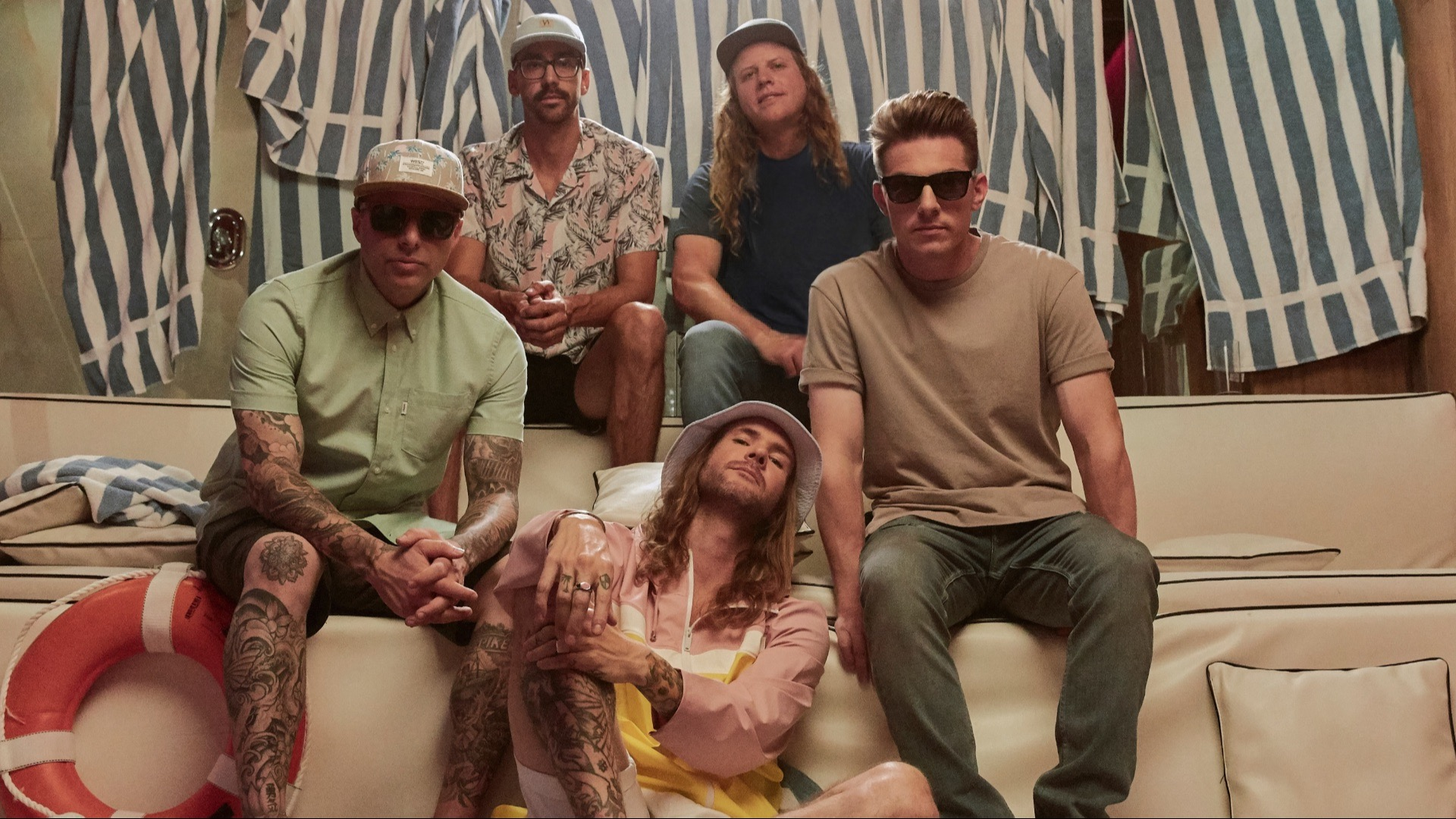 The band Dirty Heads.