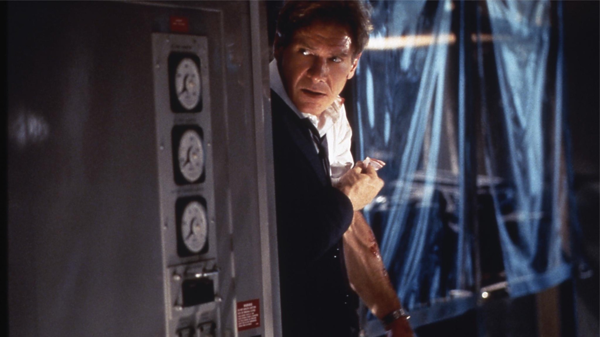 Harrison Ford in Air Force One