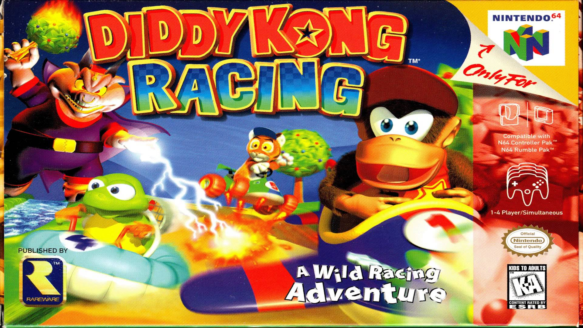 Diddy Kong Racing on N64.