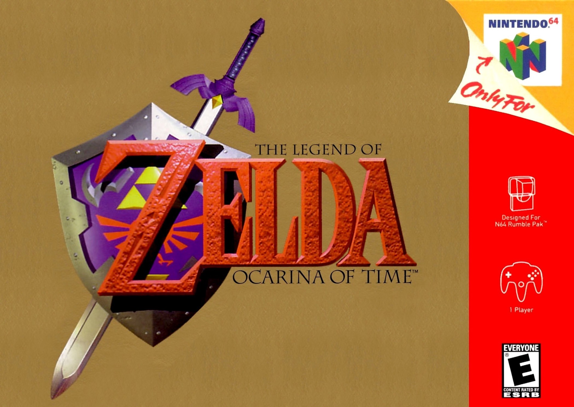 Legend of Zelda: Ocarina of Time on N64.