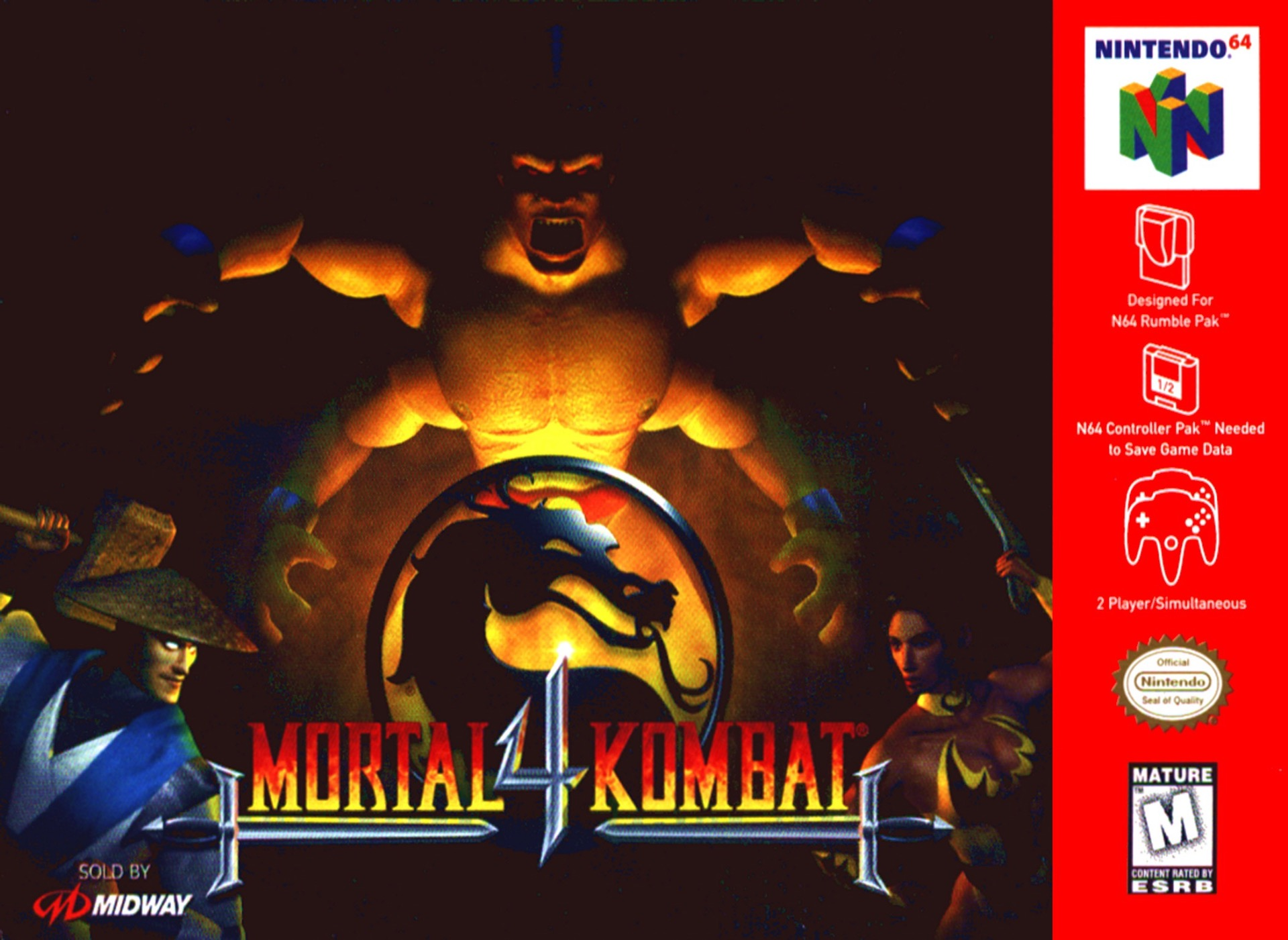 Mortal Kombat 4 on the N64.