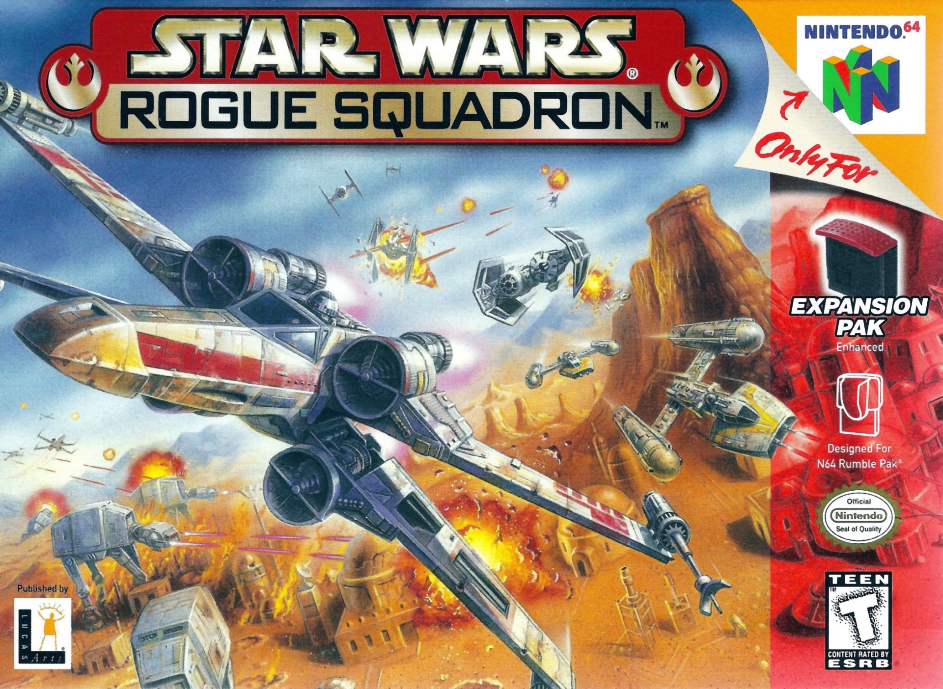 Star Wars: Rogue Squadron.
