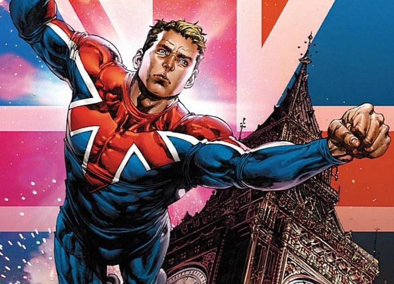 Marvel's Captain Britain.