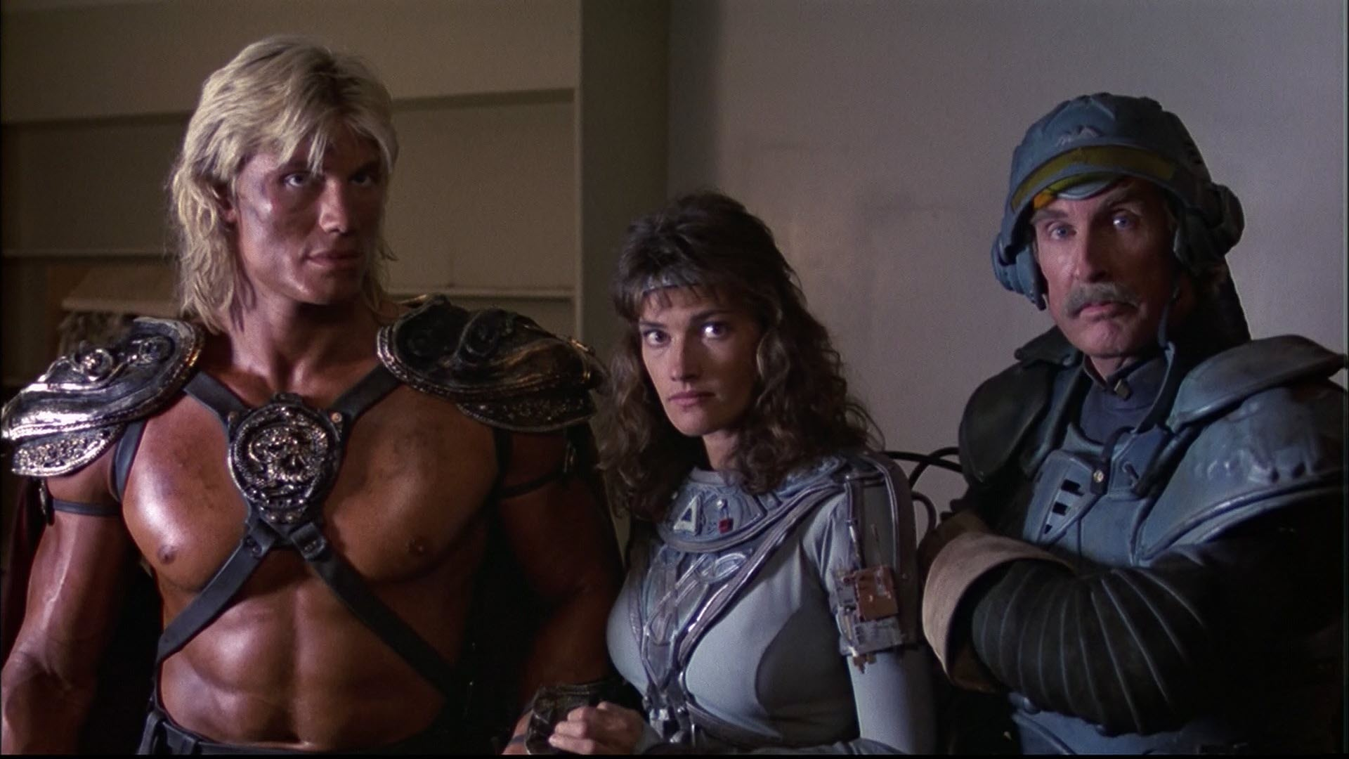 Dolph Lundgren in Masters of the Universe.