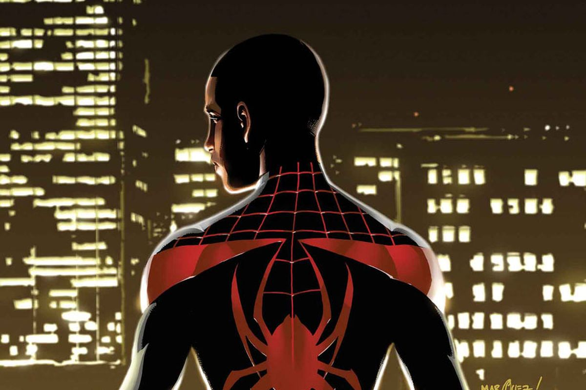 Miles Morales as Spider-Man.