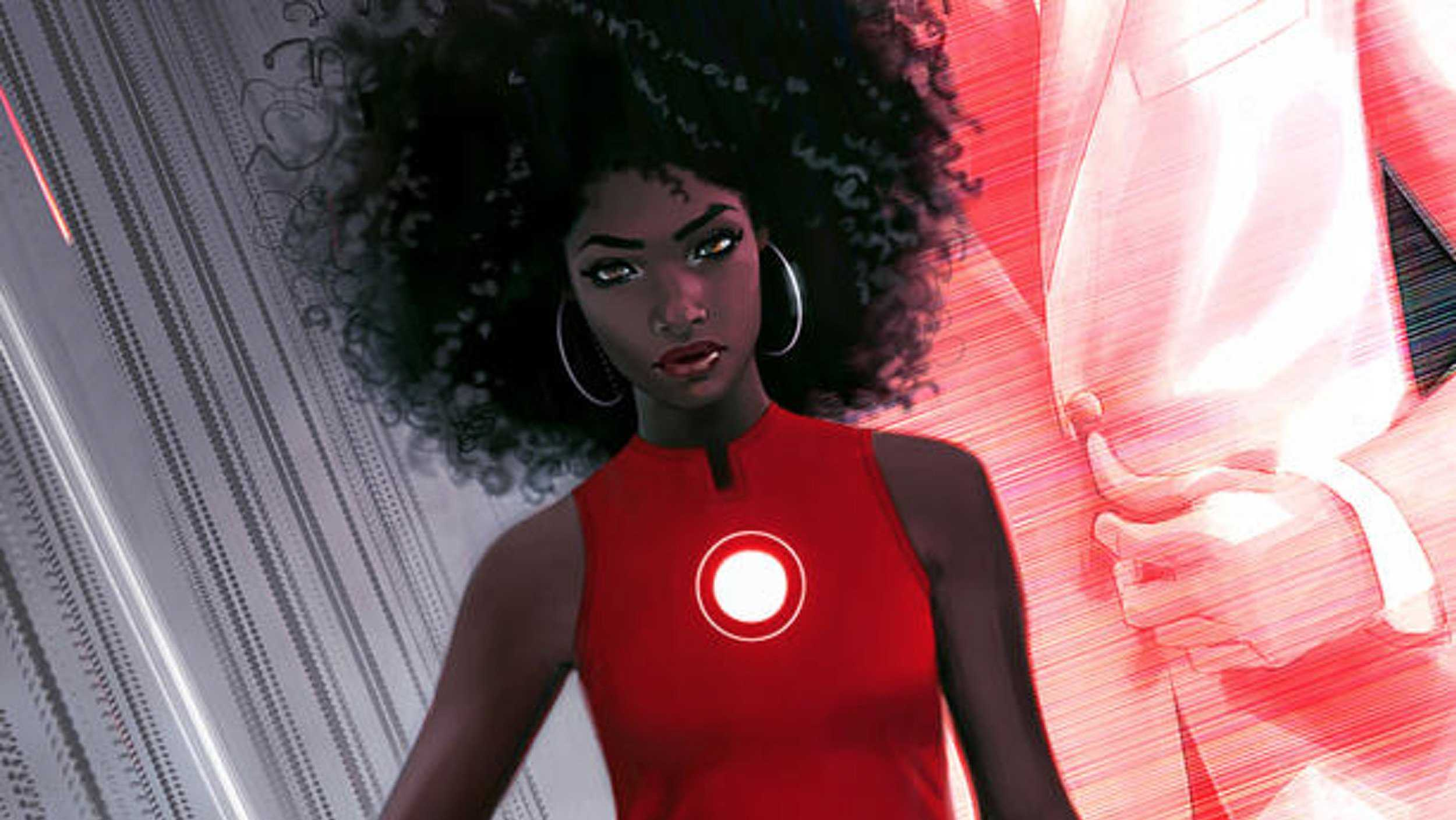 Riri Williams as Iron Man