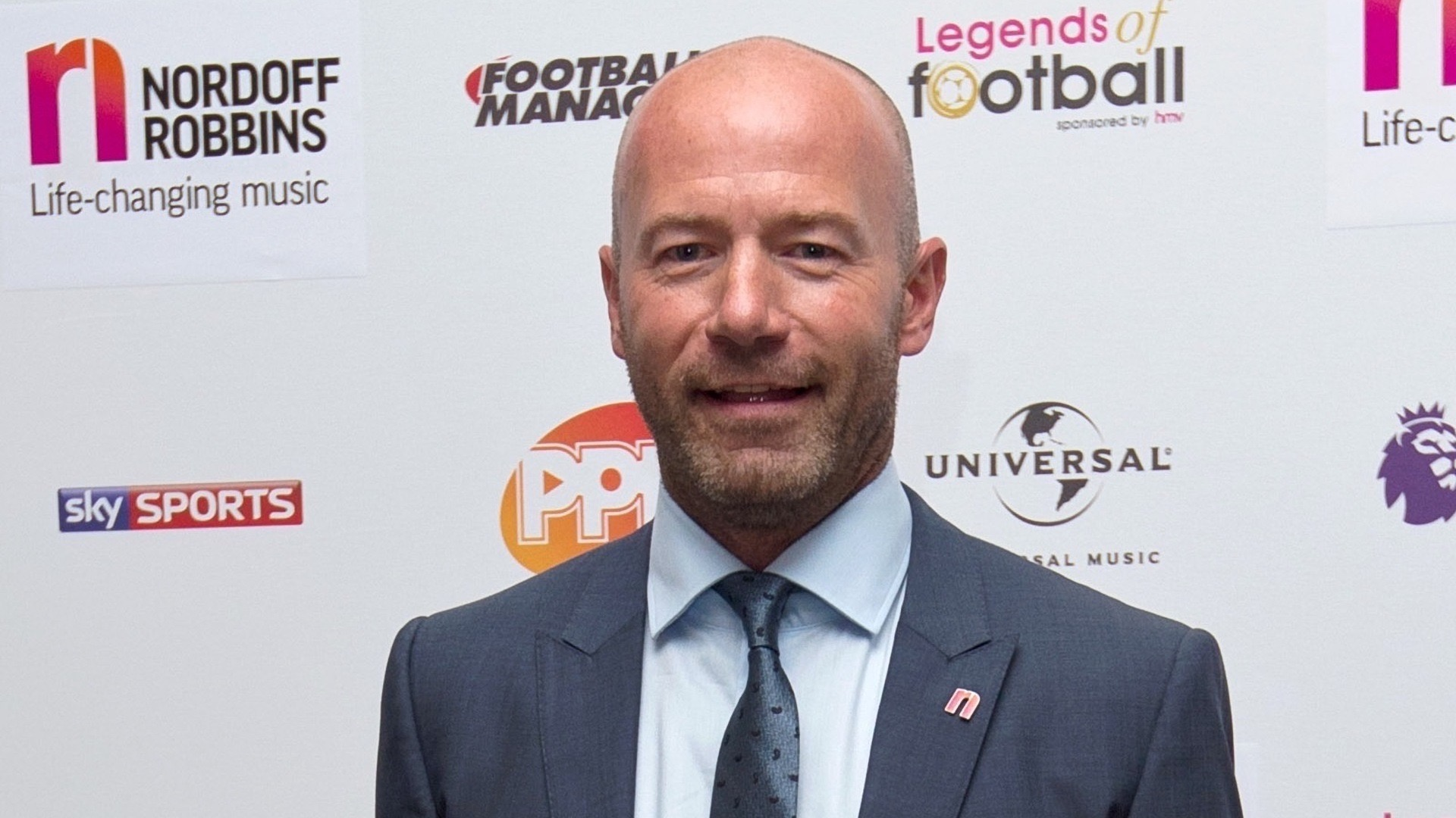 Newcastle and England legend Alan Shearer.