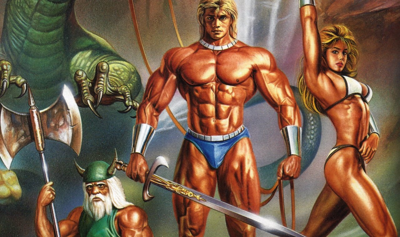 The cover of Golden Axe.