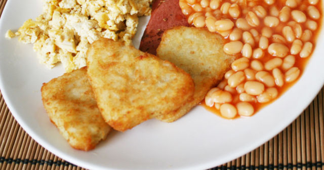 Hash browns all round.