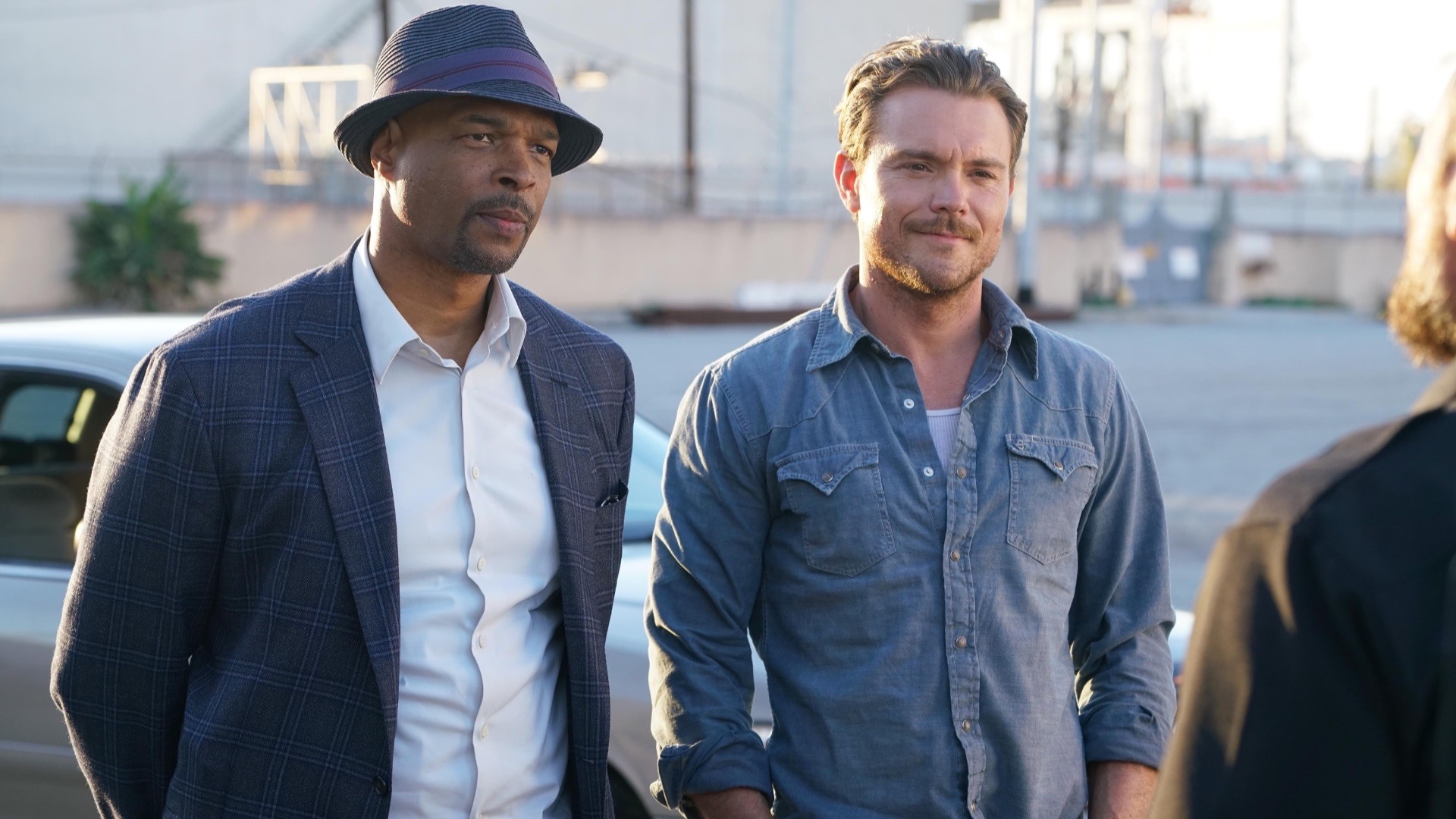 Clayne Crawford and Damon Wayans.