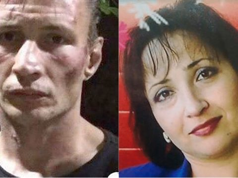 The alleged Russian Cannibal killers.