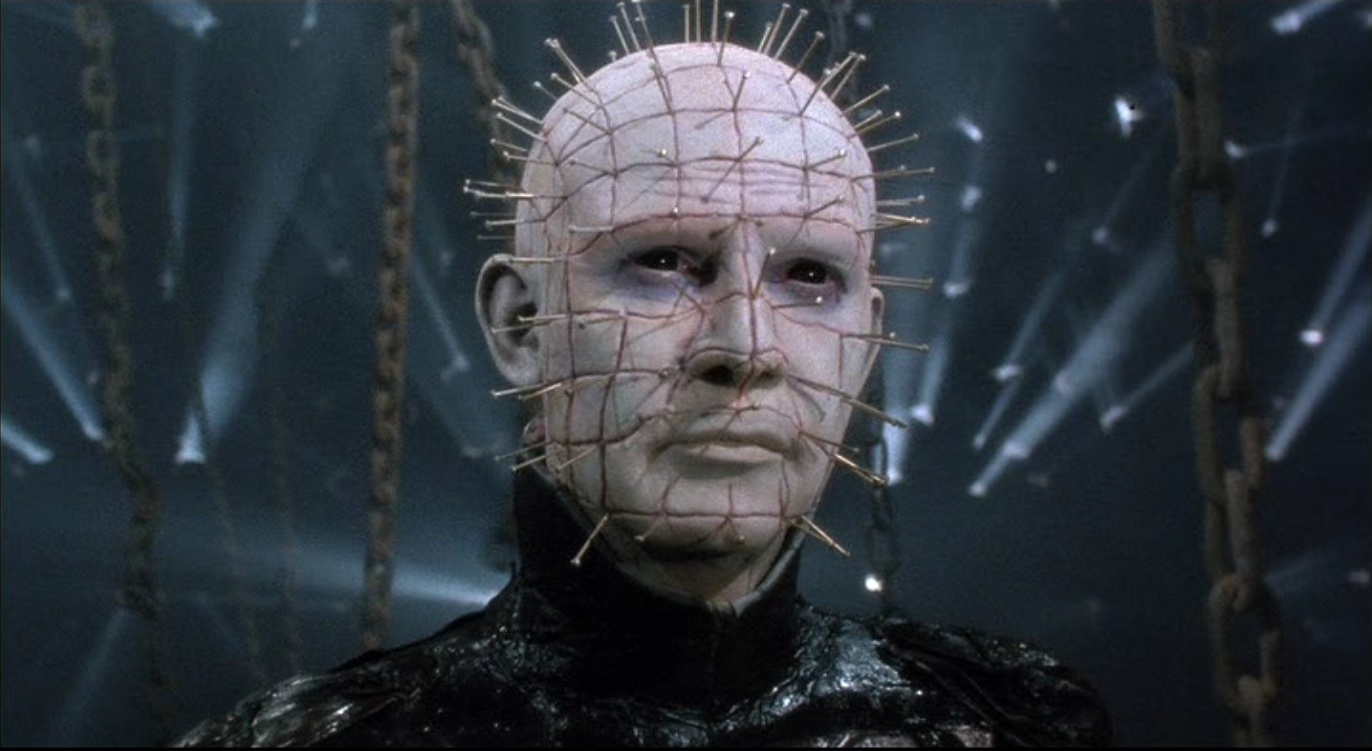 Doug Bradley as Pinhead.