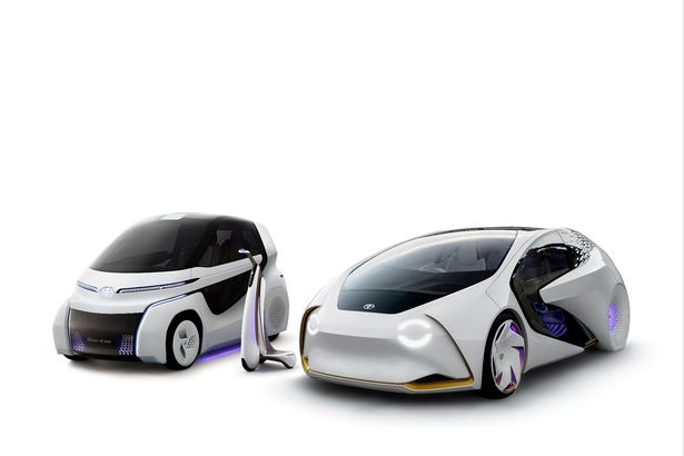 Toyota's cars of the future