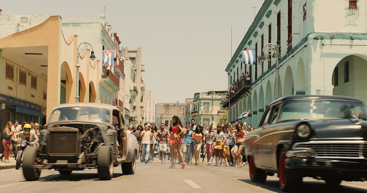 Fast and Furious 8 in Cuba.
