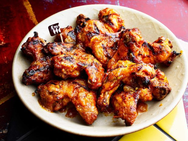 Nando's chicken wings.