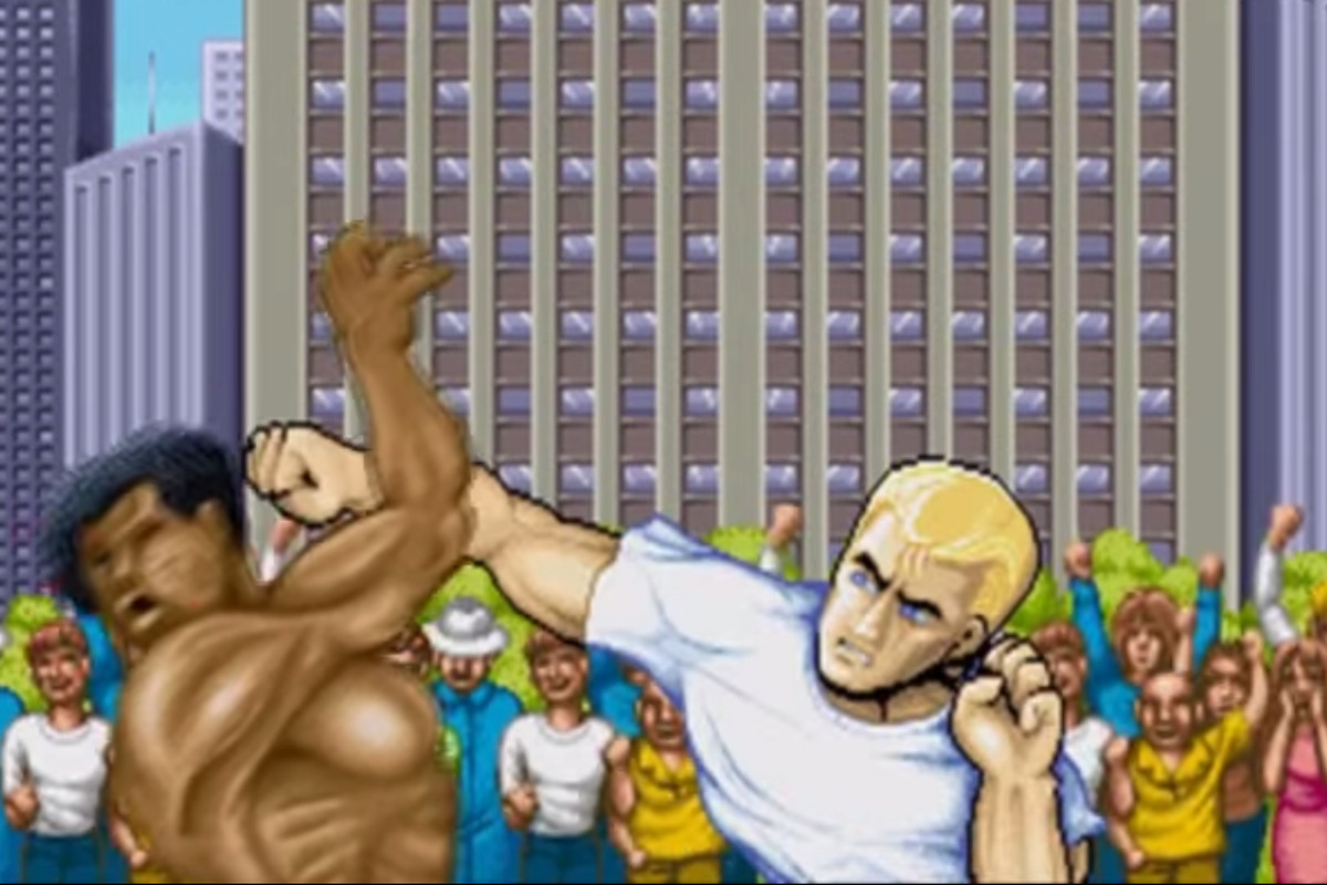 Street Fighter II.