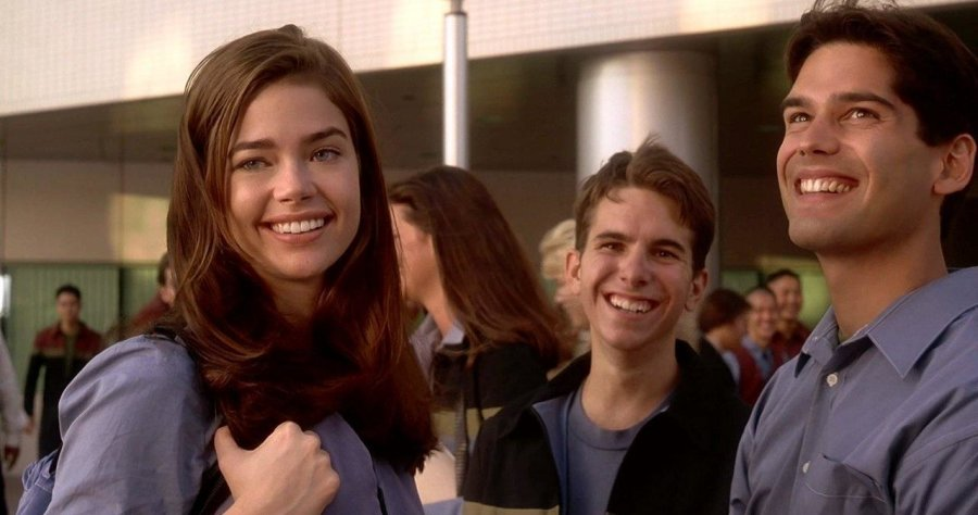 Denise Richards in Starship Troopers.