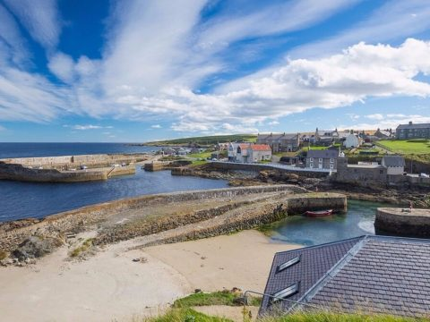 Portsoy in Aberdeenshire.