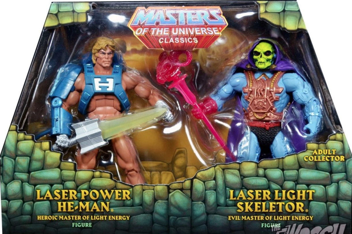 More He-Man toys.