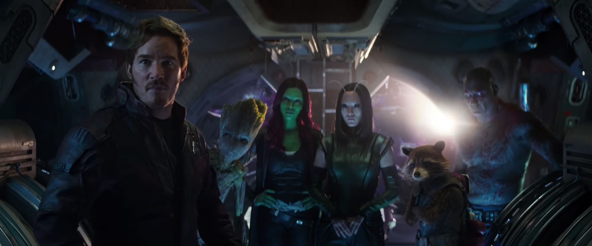 The Guardians of the Galaxy gang.
