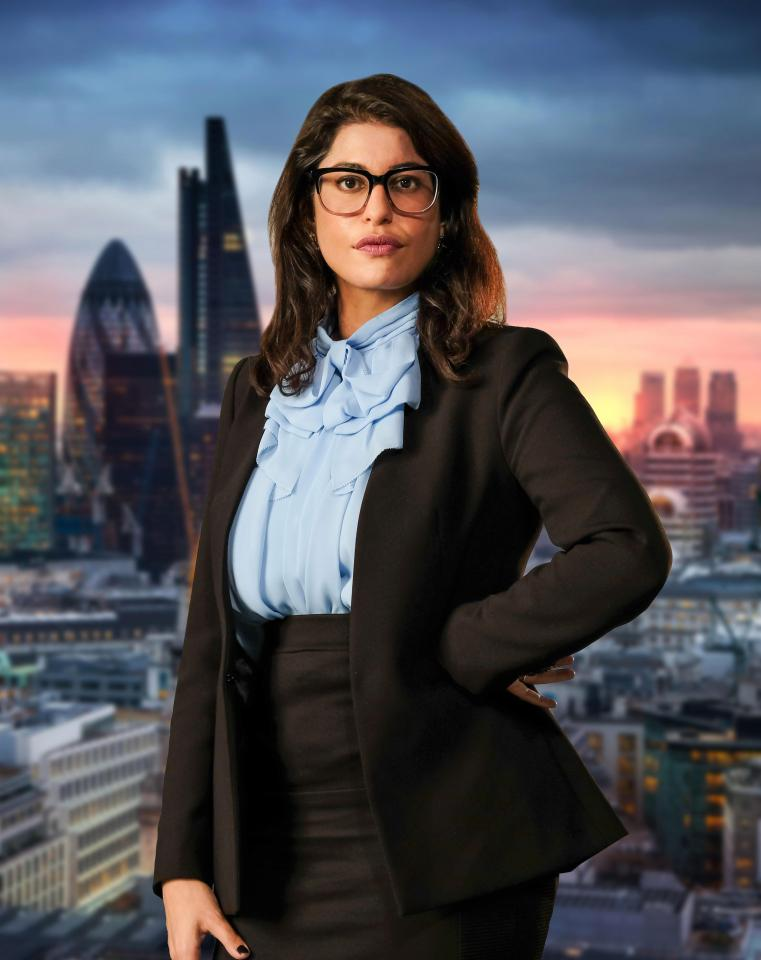 Anisa on The Apprentice.